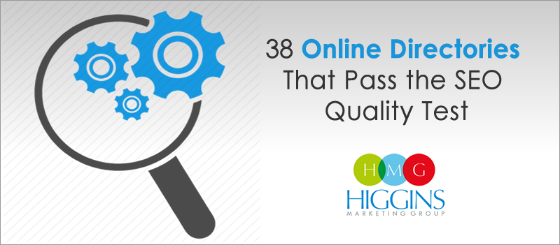 38 Online Directories That Pass the SEO Quality Test