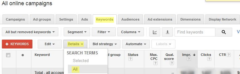 Higgins Marketing Group - How to Develop High Quality Google AdWords Keyword Lists Part 2