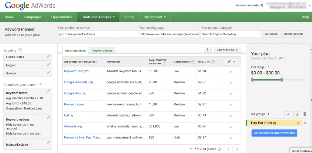 Higgins Marketing Group - How to Develop High Quality Google AdWords Keyword LIsts