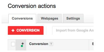 Higgins Marketing Group Adwords Conversion Tracking