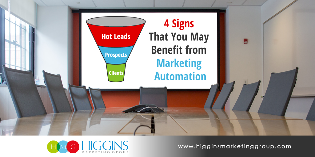 4 Signs That You May Benefit from Marketing Automation