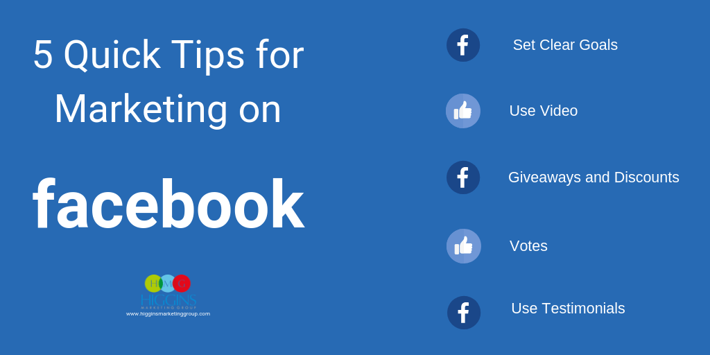 HMG - 5 Quick Tips for Marketing on Facebook (1024x512) compressed