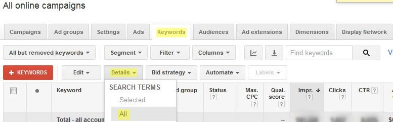 Higgins Marketing Group Not Using Negative Keywords in AdWords - It's Costing You