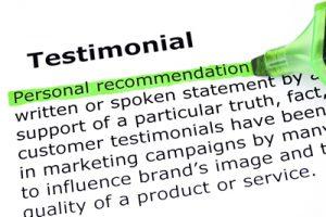 Higgins Marketing Group Convert Visitors into Leads - Customer Testimonials