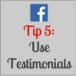 Higgins Marketing Group - Marketing on Facebook Tip 5