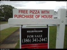 Higgins Marketing Group - Marketing MisHaps - Free Pizza