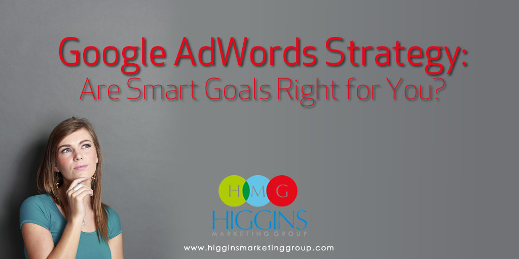 Google AdWords Strategy:  Are Smart Goals Right for You?