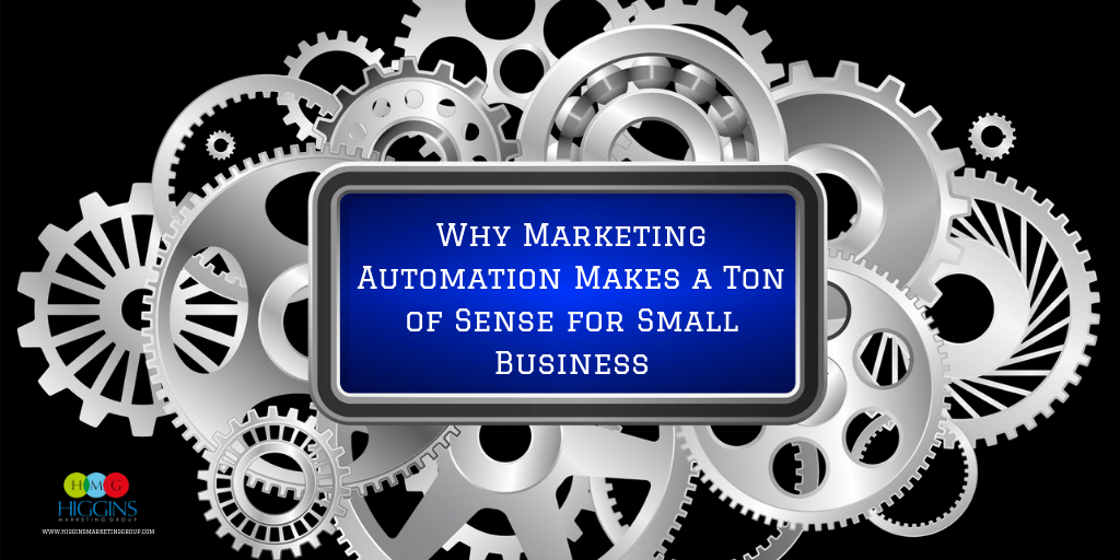 Why Marketing Automation Makes a Ton of Sense for Small Business