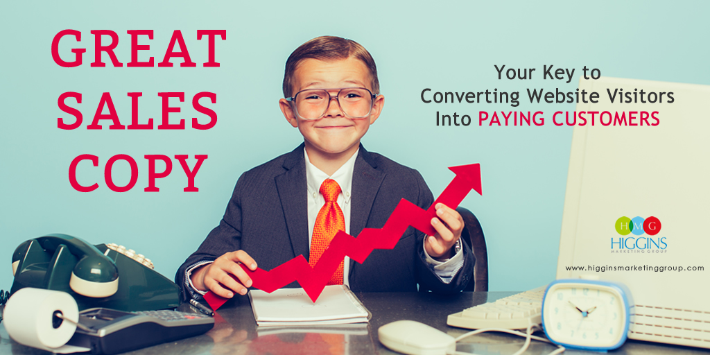Great Sales Copy – Your Key to Converting Website Visitors Into Paying Customers
