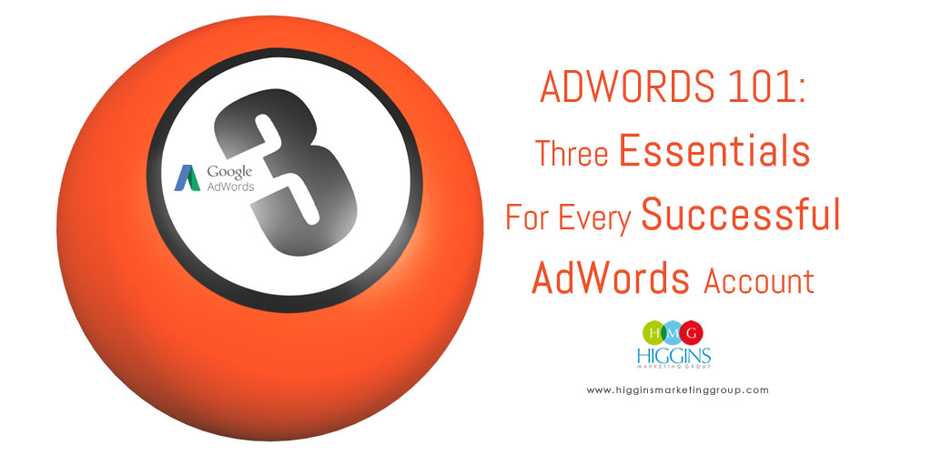 Adwords 101: Three Essentials For Every Successful AdWords Account