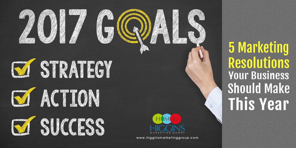 5 Marketing Resolutions Your Business Should Make This Year