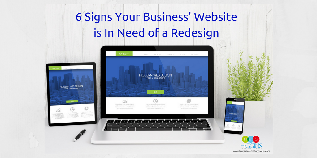 6 Signs Your Business' Website is In Need of a Redesign