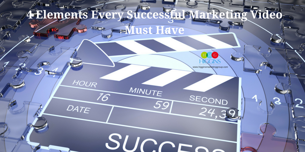 4 Elements Every Successful Marketing Video Must Have