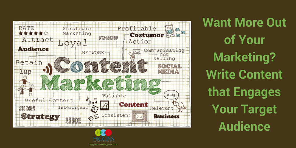 Want More Out of Your Marketing? Write Content that Engages Your Target Audience