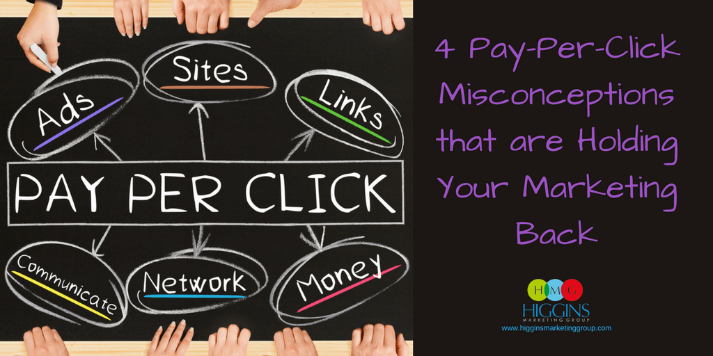4 Pay-Per-Click Misconceptions that are Holding Your Marketing Back